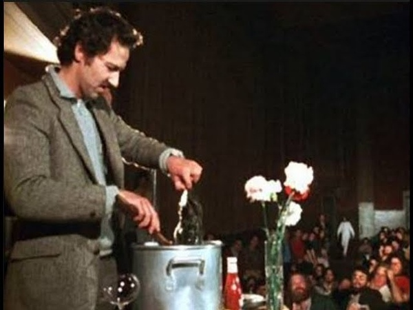 Werner Herzog Eats His Shoe 1980