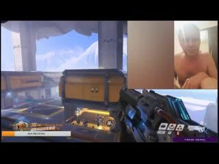 Первое появление Рамзеса на официальной трансляции (Overwatch)