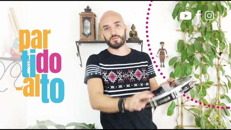 PARTIDO ALTO NO PANDEIRO COMO FAZER