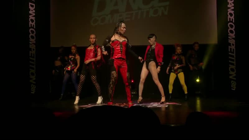 Pinky Cheeks J Pink 8th GATSBY DANCE COMPETITION 2015 Guest Show 20151107