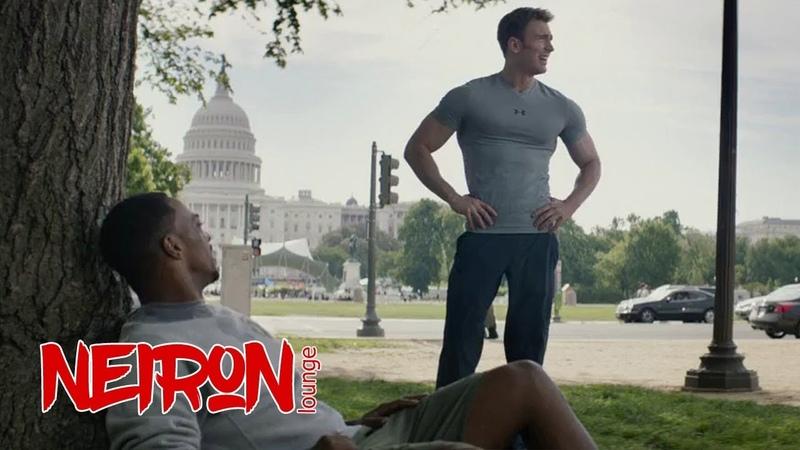 Я слева! Первый мститель Другая война - 2014 Пробежка Капитана Америки