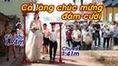 Ông trời khéo se duyên Cô dâu cao 1m94, chú rể cao 1m41. Cả làng chúc mừng đám cưới