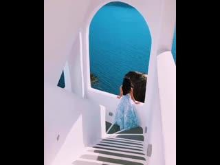 Красота на Санторини