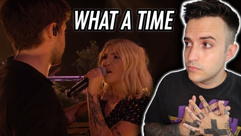 Julia Michaels Niall Horan What A Time LIVE Reaction