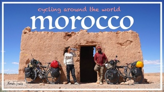 Cycling around the world: 8th VLOG - Arriving in AFRICA - Morocco
