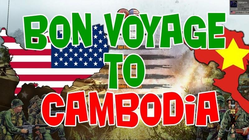 Прохождение mod Vietnam Men of War Assault Squad Bon Voyage to Cambodia
