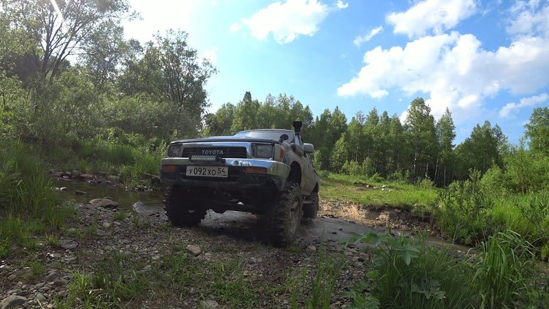 Купили резину на Toyota Hilux Silverstone 33 MT 117 XTREME маршрут на Мрассу через тайгу OffRoad