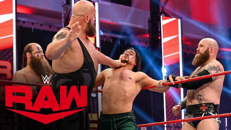 My1 Big Show Viking Raiders vs Randy Orton Andrade Angel Garza Raw July 6 2020