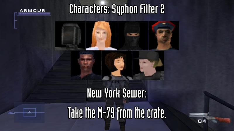 Syphon Filter 2 Two Player and Imperium Unlockables