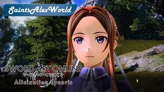 Sword Art Online: Alicization Lycoris [PC] Прохождение на русском #6 - Упрямец Кирито