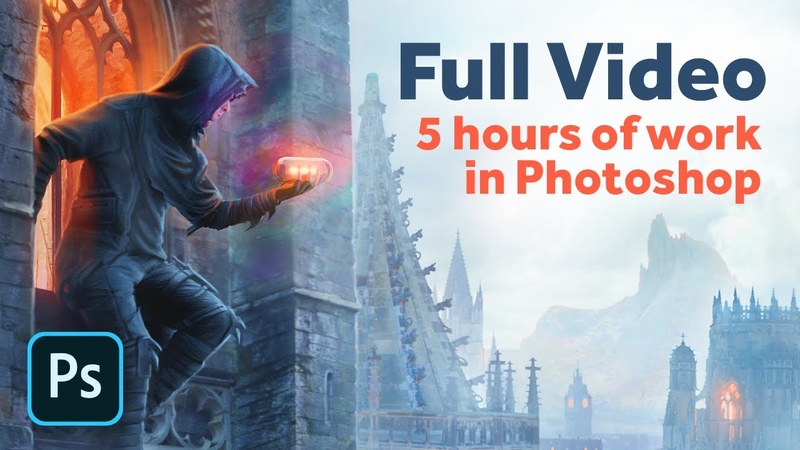 FULL CREATING OF STELTH PHOTOMANIPULATION Photo editing in Photoshop