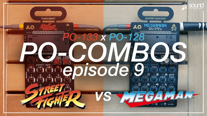 PO 133 Street Fighter vs PO 128 Megaman PO COMBOS Ep 9 TE Capcom Collab Pocket Operators