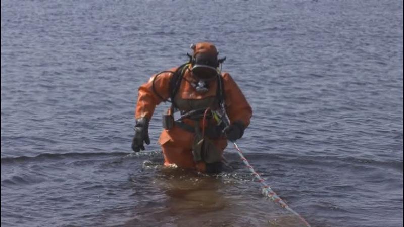 Лангепасский пляж проверили водолазы мусора не обнаружено
