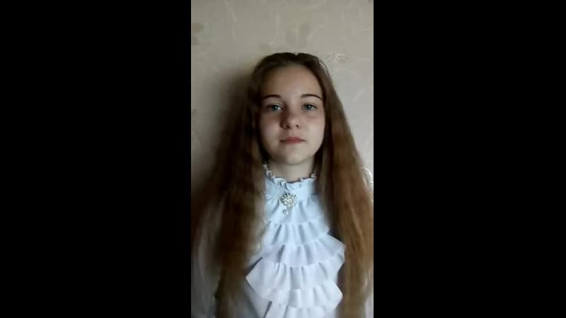 Ученица Ситниковской СОШ Елишева Анастасия