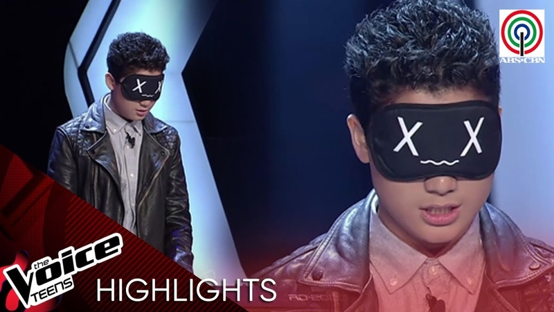 Tyson plays New York State Of Mind blindfolded The Voice Teens Philippines 2020