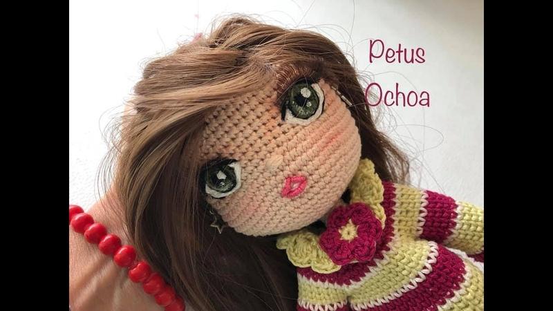 Borda boca a tus muñecas amigurumis by Petus