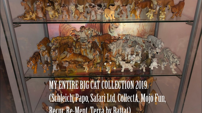 ENTIRE BIG CAT COLLECTION Schleich Papo Safari CollectA Mojo Recur Rement etc End of 2019