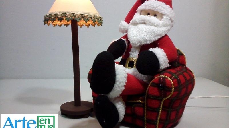 Cómo Hacer un Sillón para Santa Claus Paso a paso