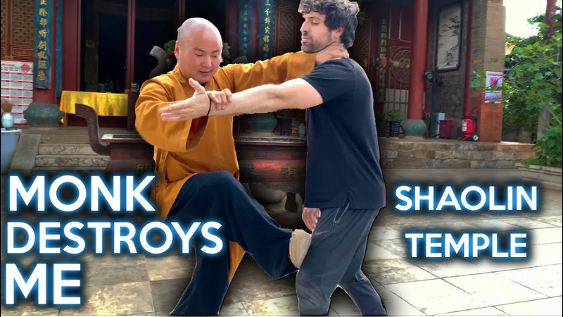 Warrior Monk DESTROYS Me with Wing Chun in China