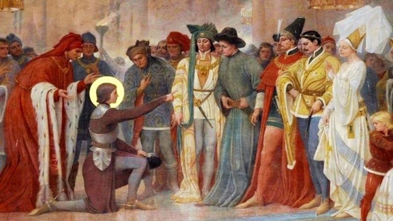 Elle était pas gagnée son histoire à ce Roi Et Jeanne d'Arc