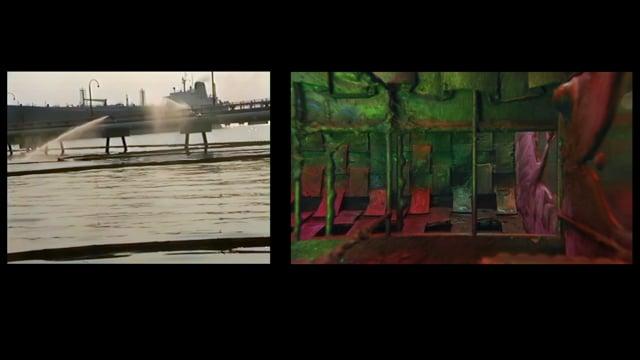 Pfui Pish Pshaw Prr excerpt Saskia Olde Wolbers 2017 two channel video HD 20 min