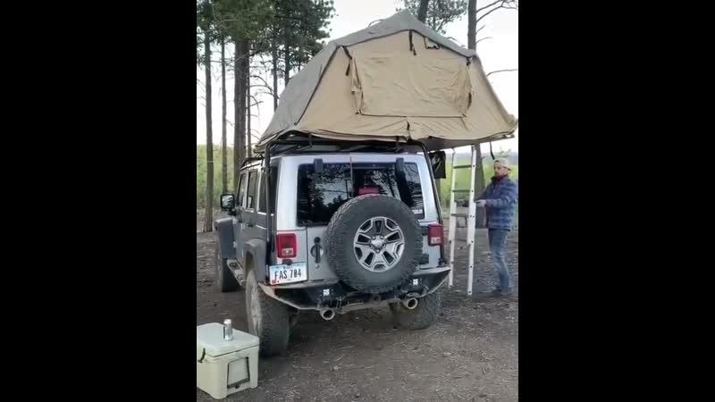 Такая палатка просто находка путешественников