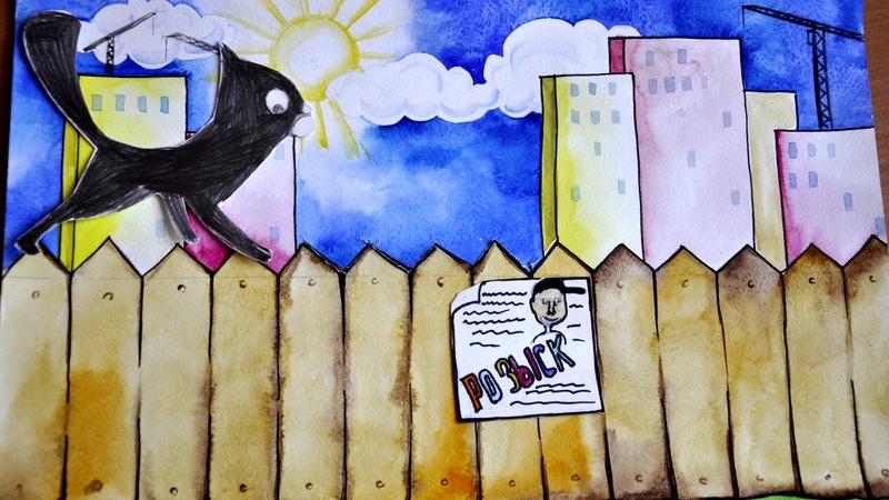 Чёрные коты, мультфильм по мотивам стихотворения Чёрные коты, Янис Грантс