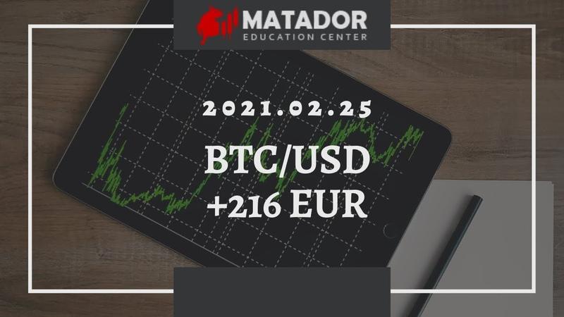 2021 02 25 BTC USD 216 EUR in 2 min Matador Education Center