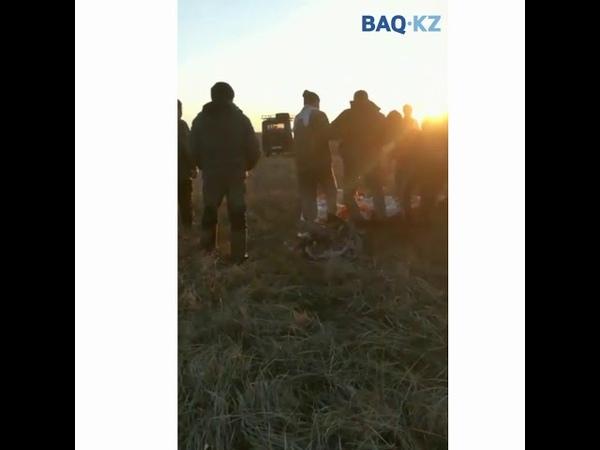 Қарағанды облысында МиГ 31 ұшағы құлады