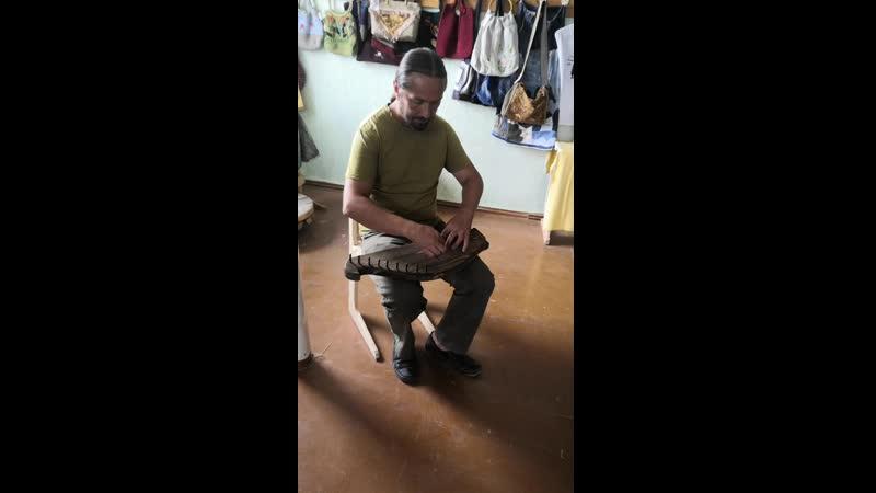 Валерий Дьяченко Игра на гуслях Белогорье