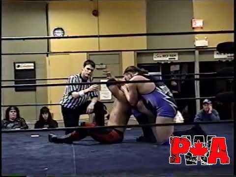My1 PWA Wrestling Michael Elgin vs Ruffy Silverstein April 12th 2007