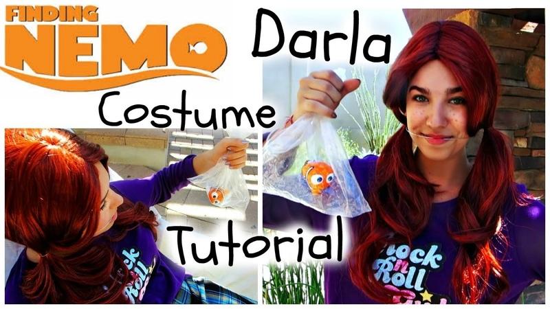 Darla Costume Tutorial | Finding Nemo