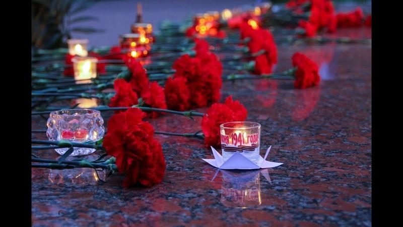 В День памяти и скорби архипастырь совершил литию у Вечного огня