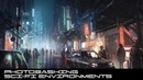 Concept Art Tutorial: Photo-bashing Sci-Fi Environments