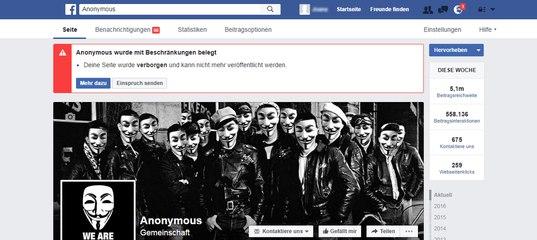 Anonym Auf Facebook