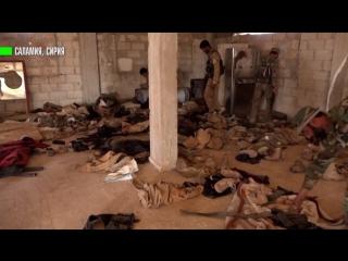 На западе Сирии обнаружена сеть подземных туннелей боевиков