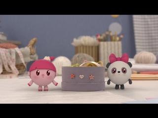 Малышарики - Обучающий мультик для малышей - Все серии подряд - Про Нюшеньку и Пандочку