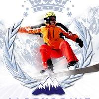 Логотип AlpenDrive - выезды из УФЫ на Горнолыжные центры