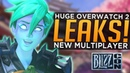 HUGE Overwatch 2 LEAKS! - NEW Multiplayer, NO Hero at Blizzcon