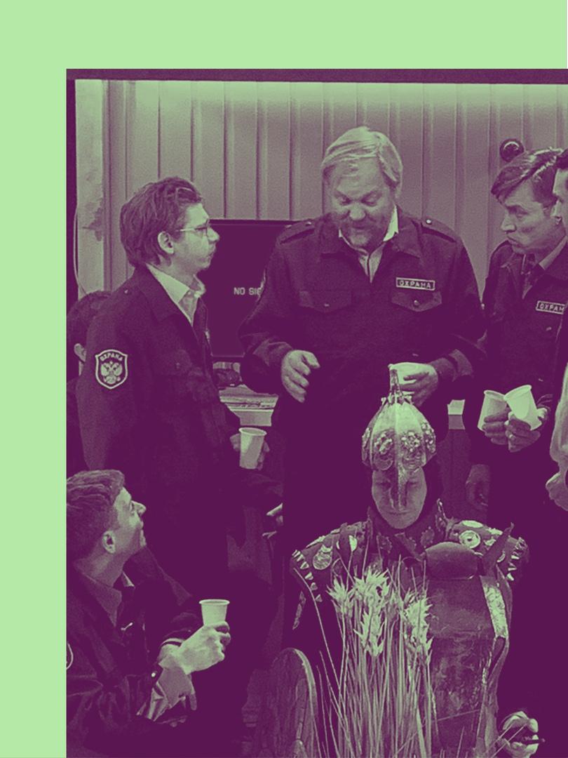 Слово о полку Игореве - сказ о турникетах, пропусках и российских охранниках