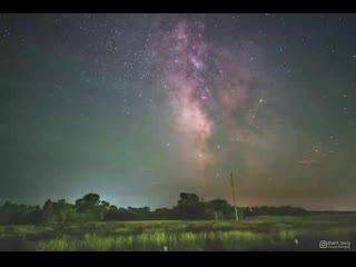 Earth's Rotation Visualized in a Timelapse of the Milky Way Galaxy - 4K(0).mp4