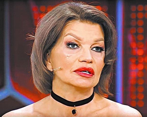 Жена Гогена Солнцева теперь лысая. По слухам, у нее рак мозга.