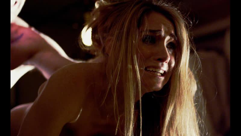 Связанную девушку жестко насилуют в анал (ебут в жопу по очереди, порвали очко телке, кончают в задницу, пустили по кругу)