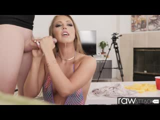 Ashley Red - Sweet and Blonde Ashley Red Brand New to Porn