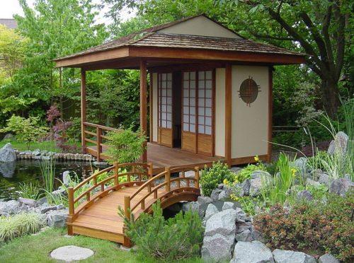 Мостики в японском стиле