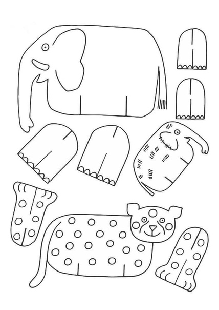 Предлагаю вам интересные идеи из - сегодня делаем свой зоопарк После сборки их можно оживить красочно раскрасив. Картинки можно распечатать на принтере и вырезать шаблоны для