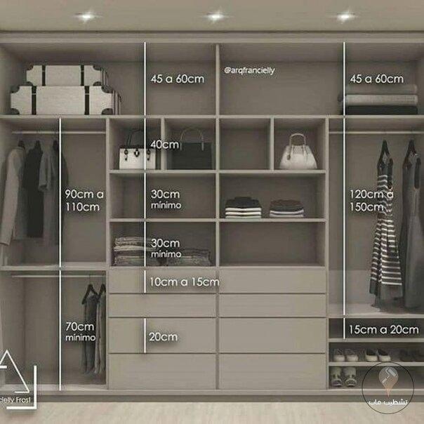 Удачные планировки вместительных шкафов - забирайте в копилочку полезностей