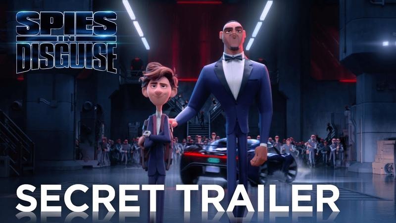 Spies in Disguise Super Secret Trailer 20th Century FOX