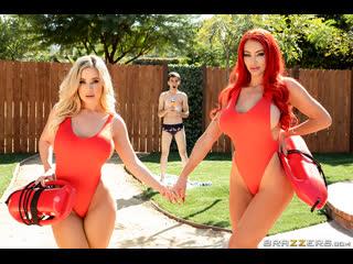Brazzers - Big Tits Save Lives / Nicolette Shea, Savannah Bond & Jordi El Niño Polla