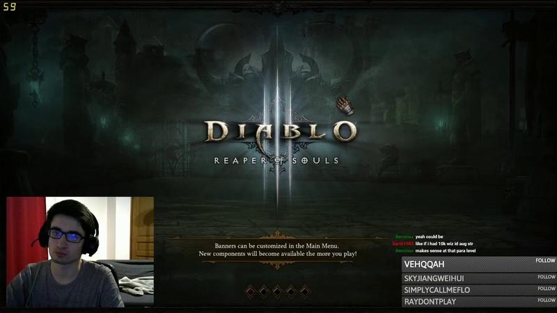 Diablo 3 2.6.7 | GR150 Solo Crusader - 16:12 (damn this floor 2)